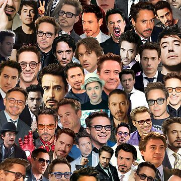 robert downey jr. collage by maisieshaea