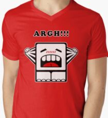 ARGH!!! Men's V-Neck T-Shirt