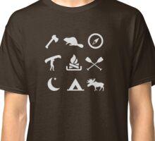 Camping Canoe Trip Classic T-Shirt