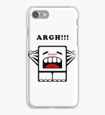 ARGH!!! iPhone Case/Skin