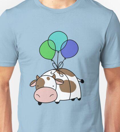 Balloon Cow Unisex T-Shirt