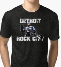 ROBOCOP - DETROIT ROCK CITY Tri-blend T-Shirt