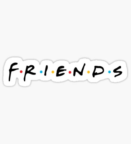 Friends Tv Show: Stickers | Redbubble