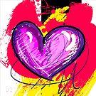 Pink-ish Heart [1] by Em B-)