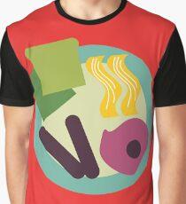 Crazy Breakfast Graphic T-Shirt