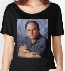 George Costanza Portrait Seinfeld Women's Relaxed Fit T-Shirt