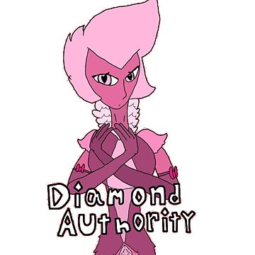 Pink Diamond Authority by ShadowCatArts