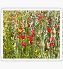 Poisoned Poppies Sticker