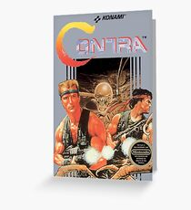 Contra Greeting Card
