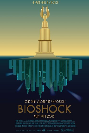 Bioshock Faux Movie Poster by DanielCepeda