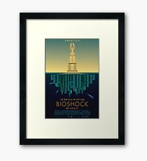 Bioshock Faux Movie Poster Framed Print