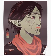 Limited Palette Merrill Poster