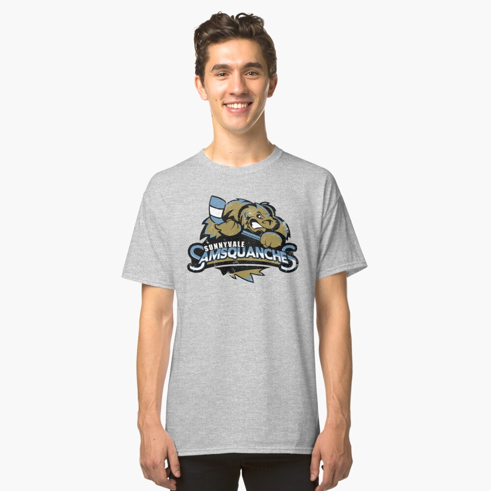 Sunnyvale Samsquanches Classic T-Shirt Front