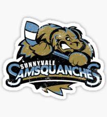 Sunnyvale Samsquanches Sticker