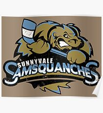 Sunnyvale Samsquanches Poster