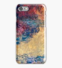 Claude Monet - The Water Lily Pond in the Evening (1916 - 1922)  iPhone Case/Skin