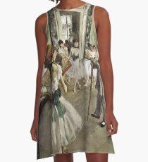 Edgar Degas - The Ballet A-Line Dress