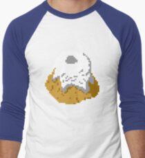 Pixel Sweetroll Men's Baseball ¾ T-Shirt