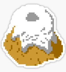 Pixel Sweetroll Sticker