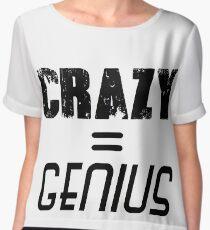 CRAZY = GENIUS Chiffon Top
