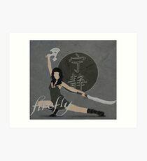 """Firefly """"River Tam"""" Art Print"""