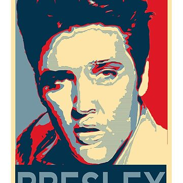 Elvis Presley by sneddy