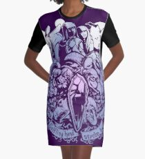 Sundered and Undone Graphic T-Shirt Dress