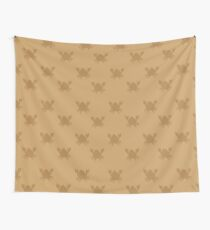 Crabs on brown Wall Tapestry