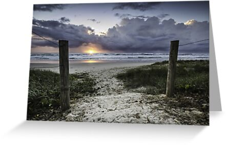 Welcome to Sunrise - Lennox Head by Daniel Rankmore