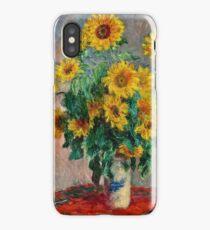 Claude Monet - Sunflowers 2  iPhone Case/Skin