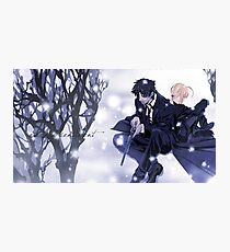 Fate Zero Saber and Kiritsugu Emiya Photographic Print