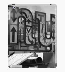 New York Crosswalk Arrows iPad Case/Skin
