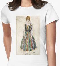 Egon Schiele - Portrait of Edith (the artists wife) (1915)  T-Shirt