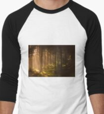Morning forest Men's Baseball ¾ T-Shirt