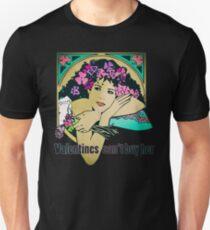 Bob Dylan Lyrics Music Inspired Vintage Girl Art T-Shirt