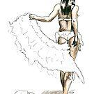 Midori Dusk - Swan Jovi by Tony Heath