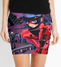 Neon Ladybug Mini Skirt