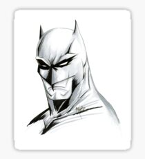The Caped Crusader Sticker