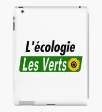 Europe Ecology, The Greens (Europe écologie – Les Verts EELV) iPad Case/Skin