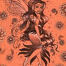 Orange Fantasy Fairy by Kashmere1646