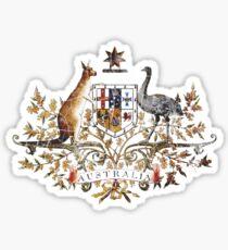 Aussie Coat of Arms Sticker
