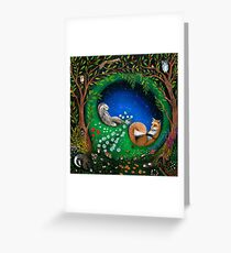 Midsummer Night's Dream Greeting Card