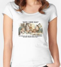 Alice and the Hatter Women's Fitted Scoop T-Shirt