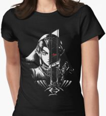A Hero's Dark Reflection Women's Fitted T-Shirt