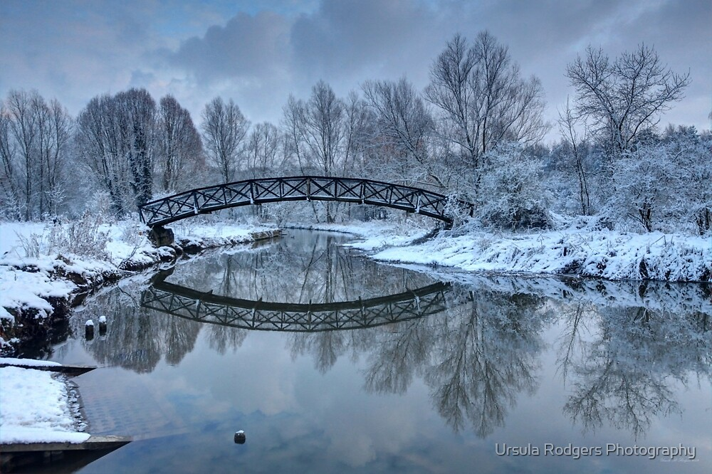 The Winter Crossing by Ursula Rodgers Photography