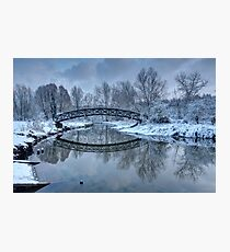 The Winter Crossing Photographic Print