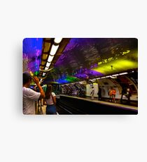 Metro color Canvas Print