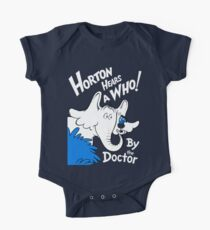 Horton Hears Doctor Who! One Piece - Short Sleeve