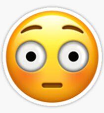 Emoji Embarrassed Sticker
