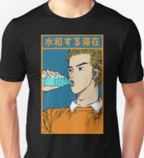 Initial D - Keisuke Takahashi 'Stay Hydrated' Unisex T-Shirt
